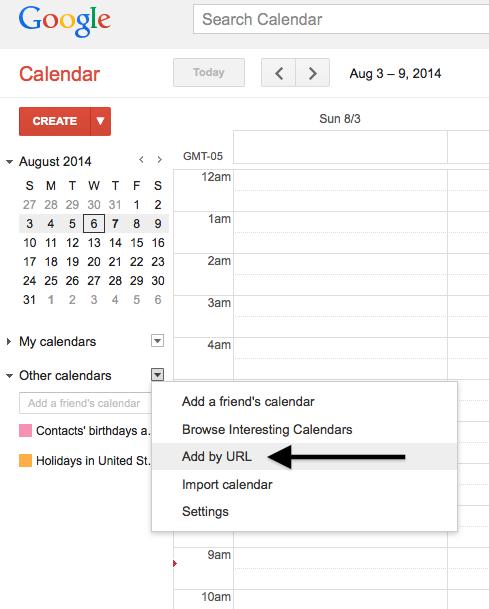 Calendar- Linking Realeflow Calendar to Google or Outlook